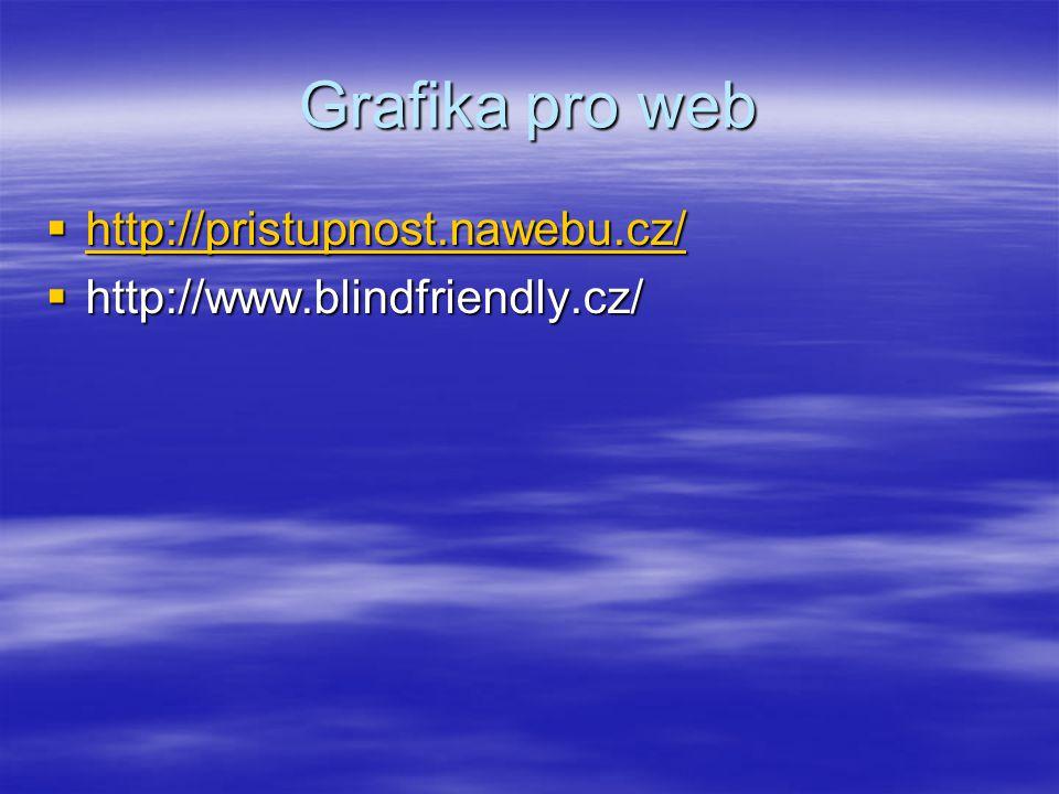 Grafika pro web http://pristupnost.nawebu.cz/