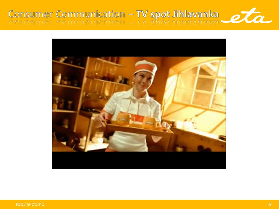 Consumer Communication – TV spot Jihlavanka