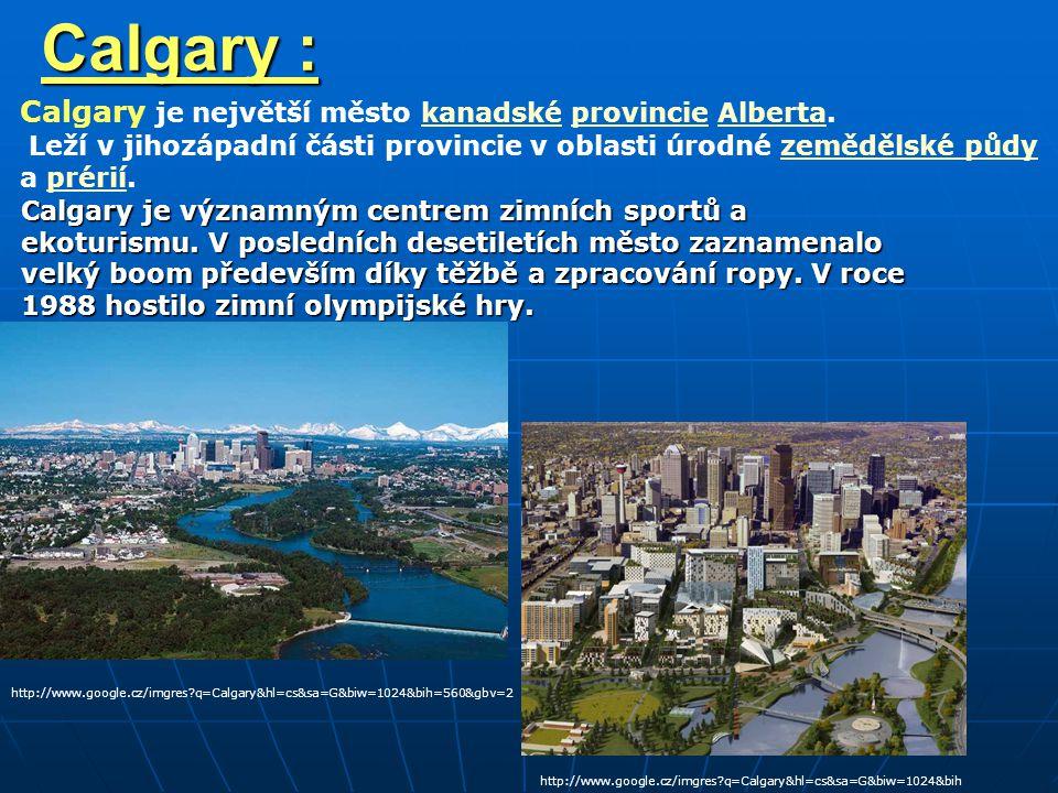 Calgary : Calgary je největší město kanadské provincie Alberta.