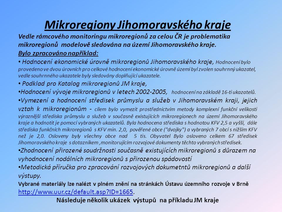 Mikroregiony Jihomoravského kraje