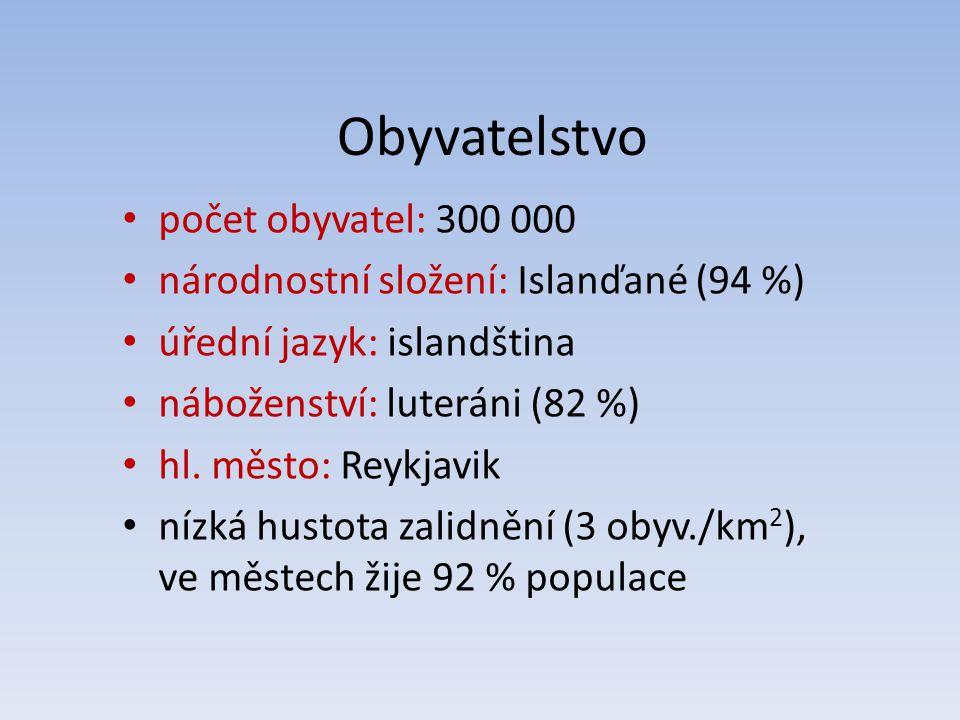Obyvatelstvo počet obyvatel: 300 000