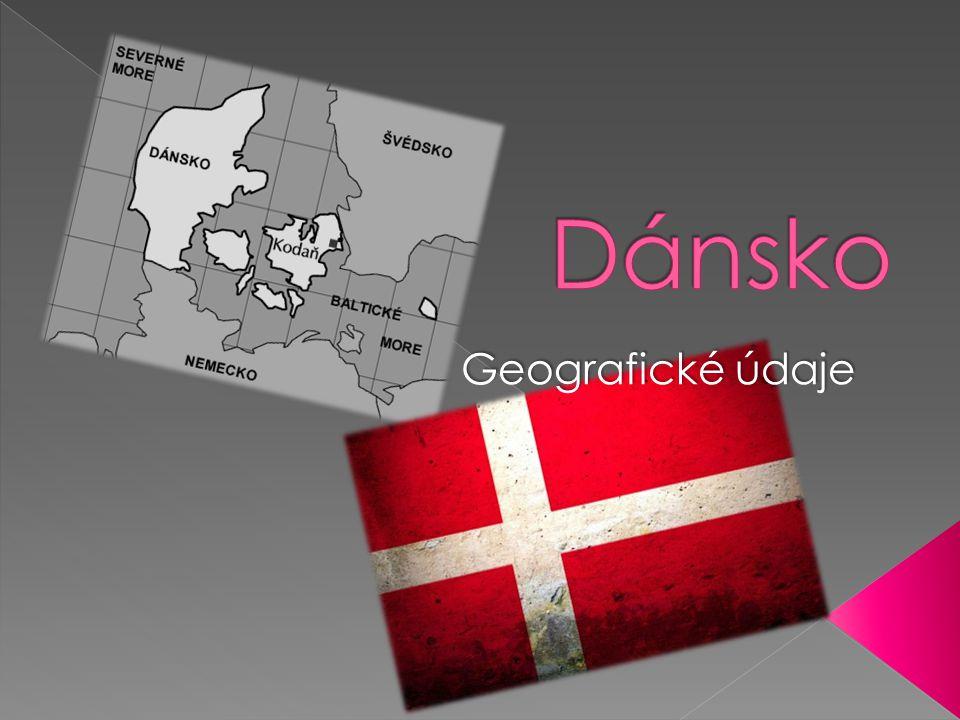 Dánsko Geografické údaje