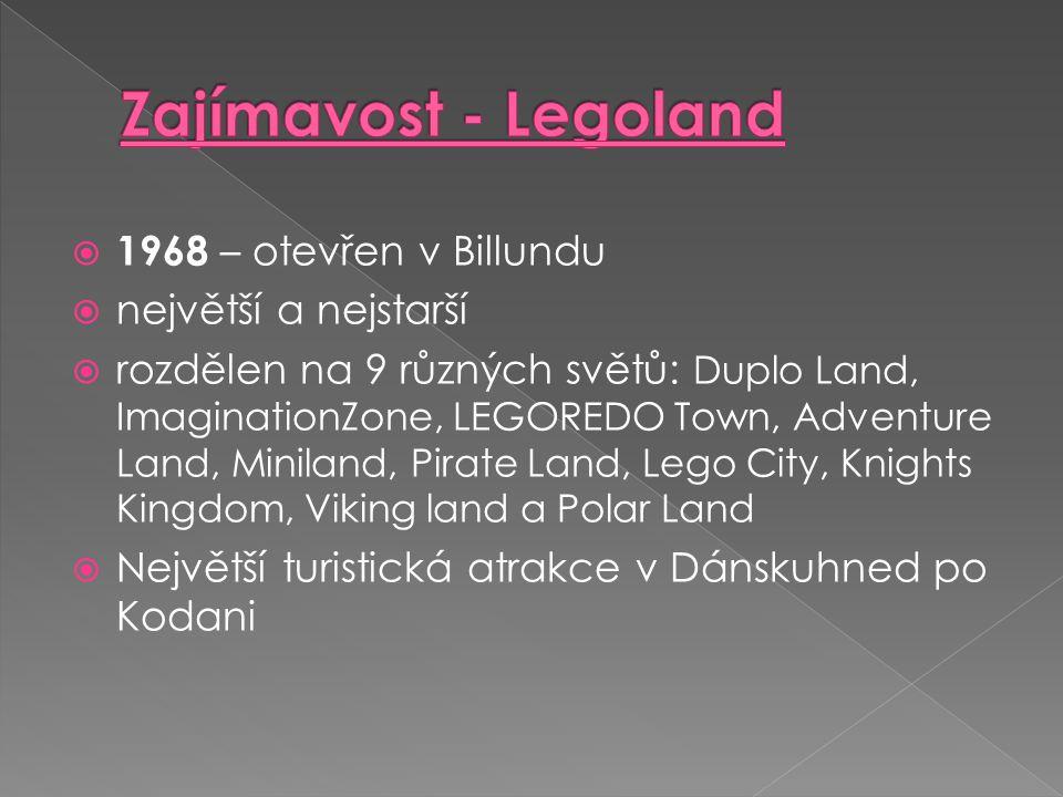 Zajímavost - Legoland 1968 – otevřen v Billundu největší a nejstarší