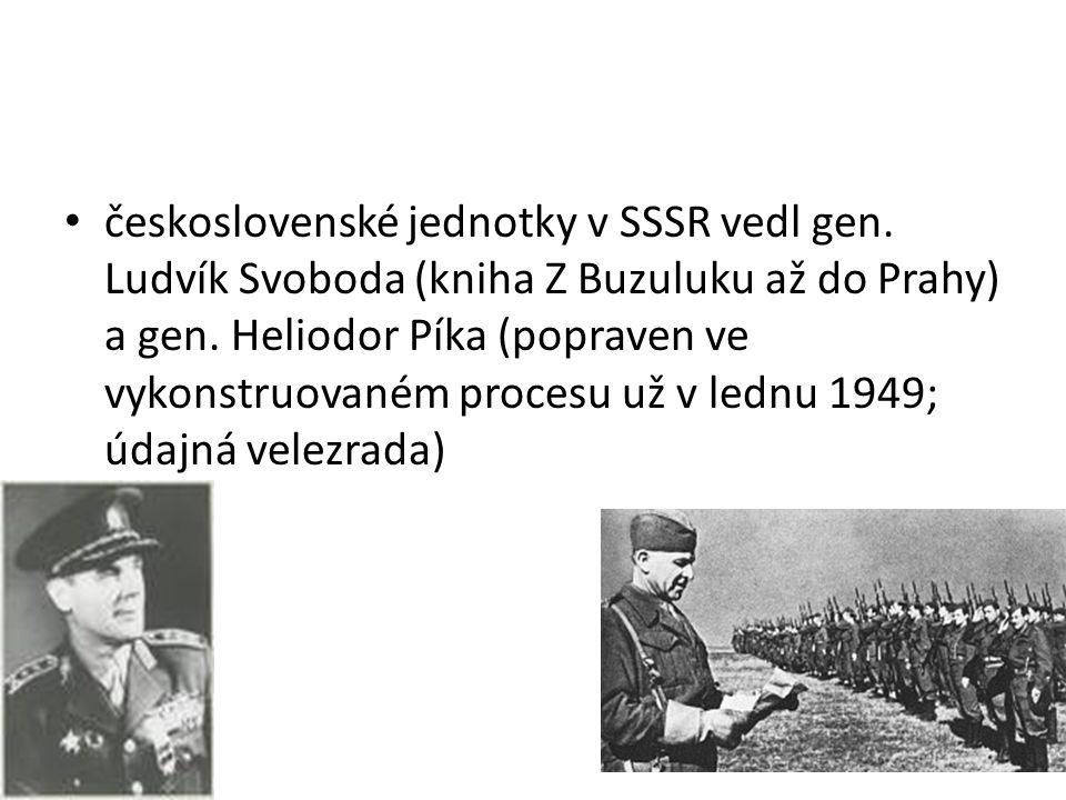 československé jednotky v SSSR vedl gen