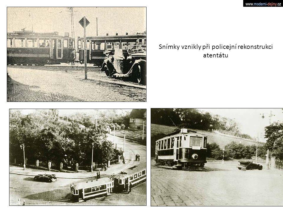 Snímky vznikly při policejní rekonstrukci