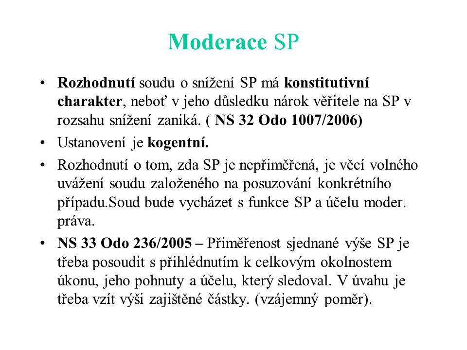 Moderace SP