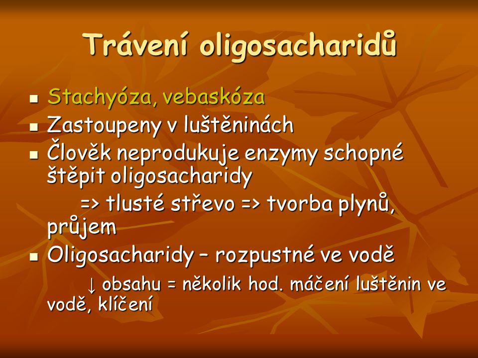 Trávení oligosacharidů
