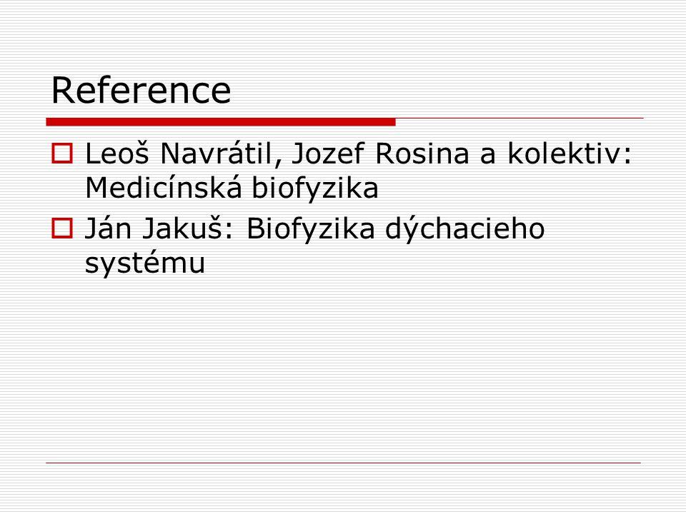 Reference Leoš Navrátil, Jozef Rosina a kolektiv: Medicínská biofyzika