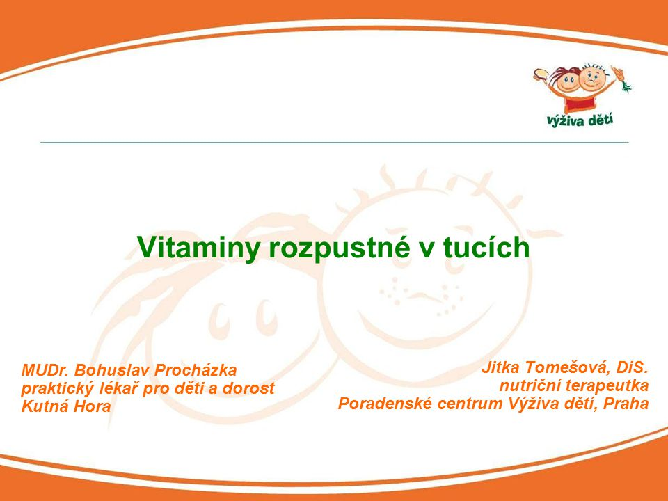 Vitaminy rozpustné v tucích