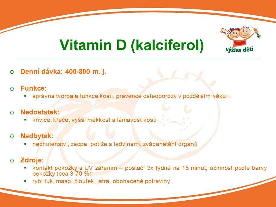 Vitamin D (kalciferol)
