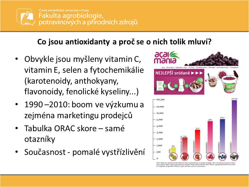 Co jsou antioxidanty a proč se o nich tolik mluví