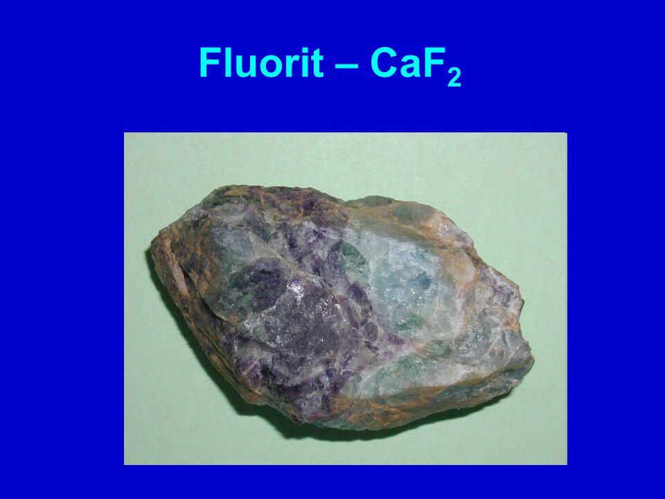 Fluorit – CaF2
