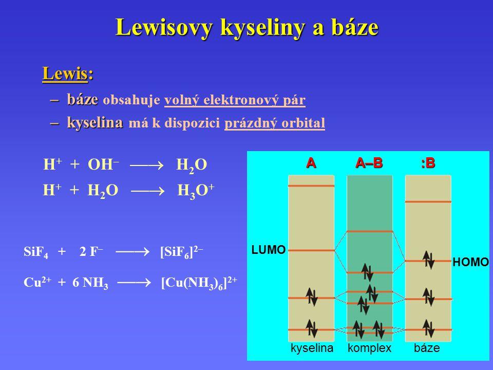 Lewisovy kyseliny a báze