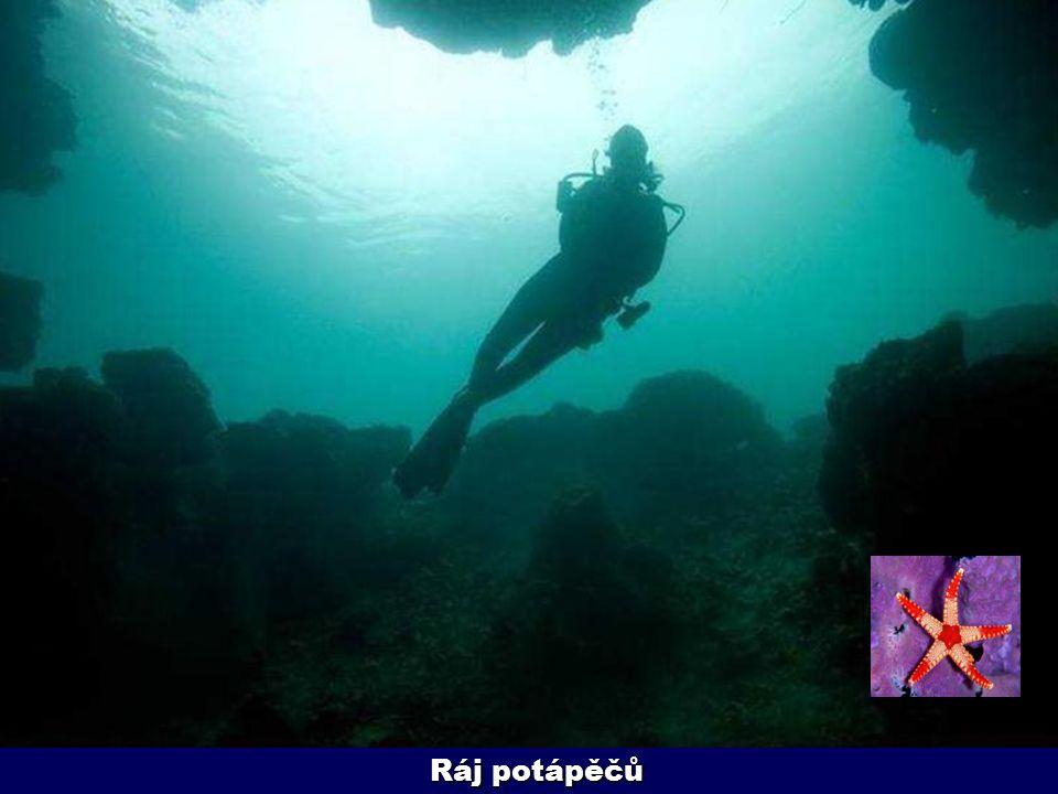 Ráj potápěčů