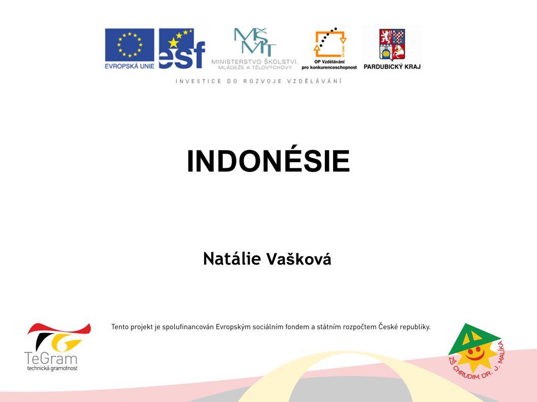 INDONÉSIE Natálie Vašková