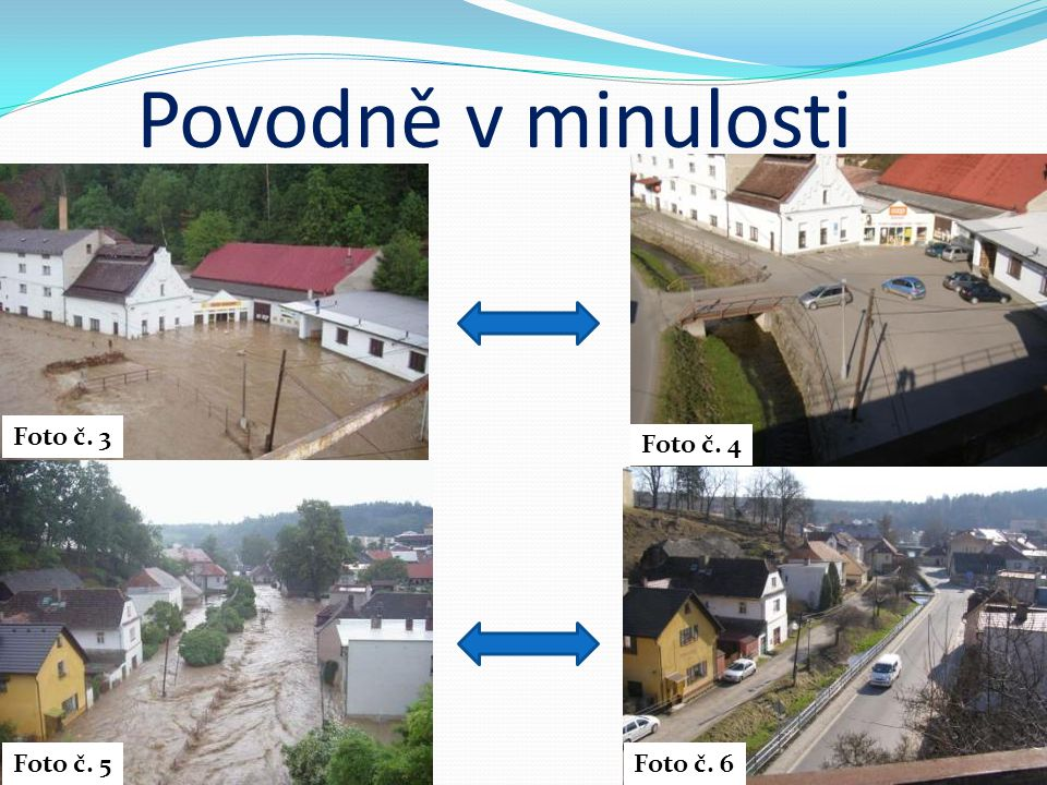 Povodně v minulosti Foto č. 3 Foto č. 4 Foto č. 5 Foto č. 6
