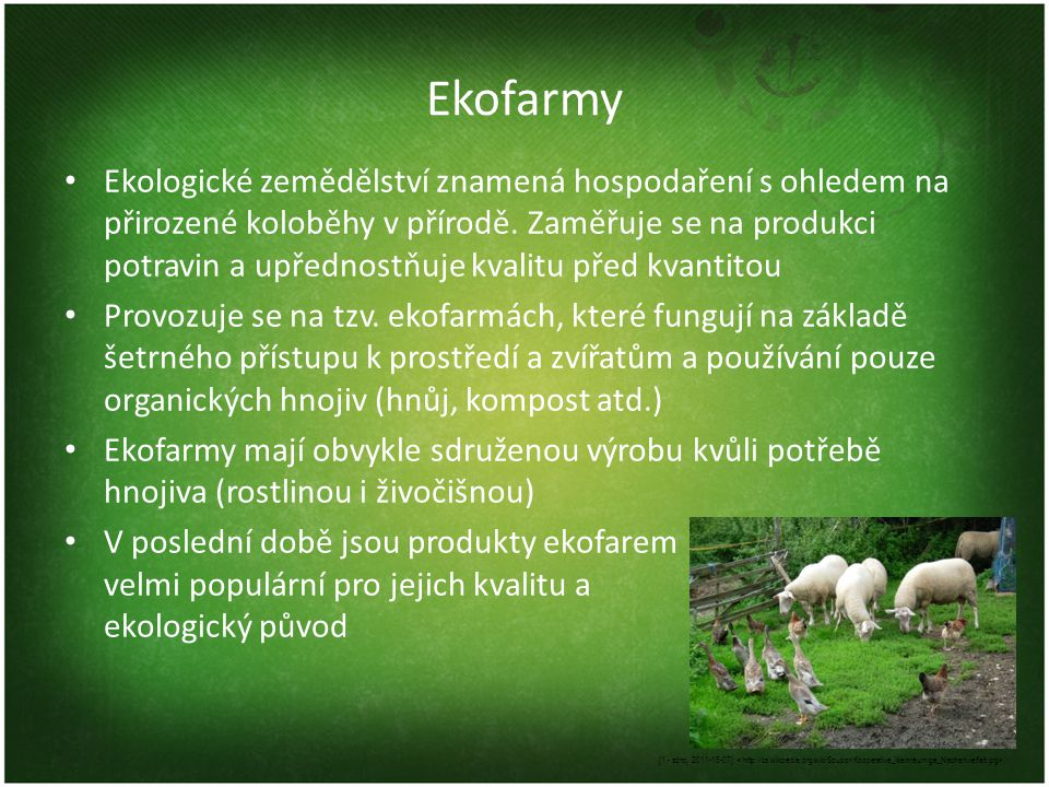 Ekofarmy