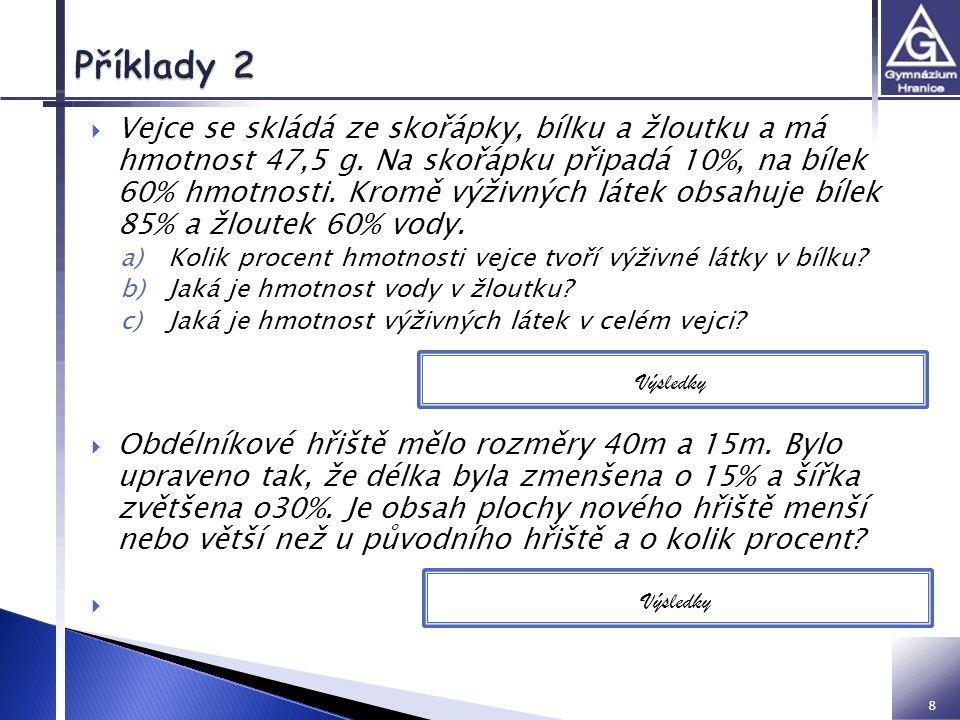 VY inovace 32 01 Z2 IM Příklady 2.