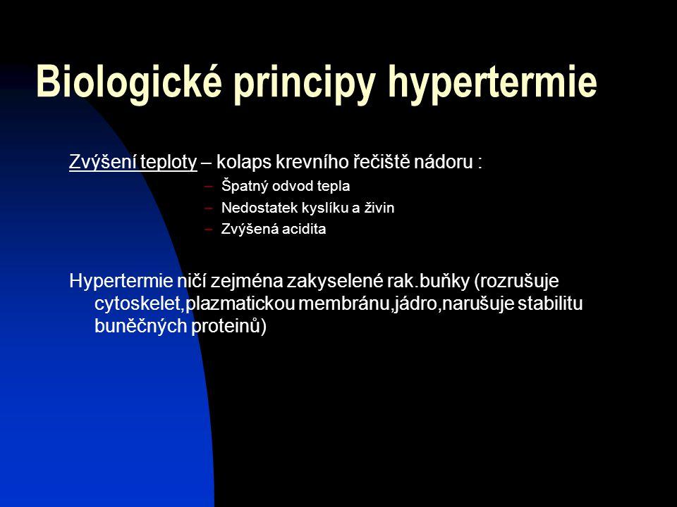 Biologické principy hypertermie