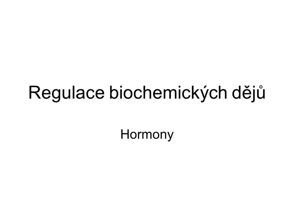 Regulace biochemických dějů
