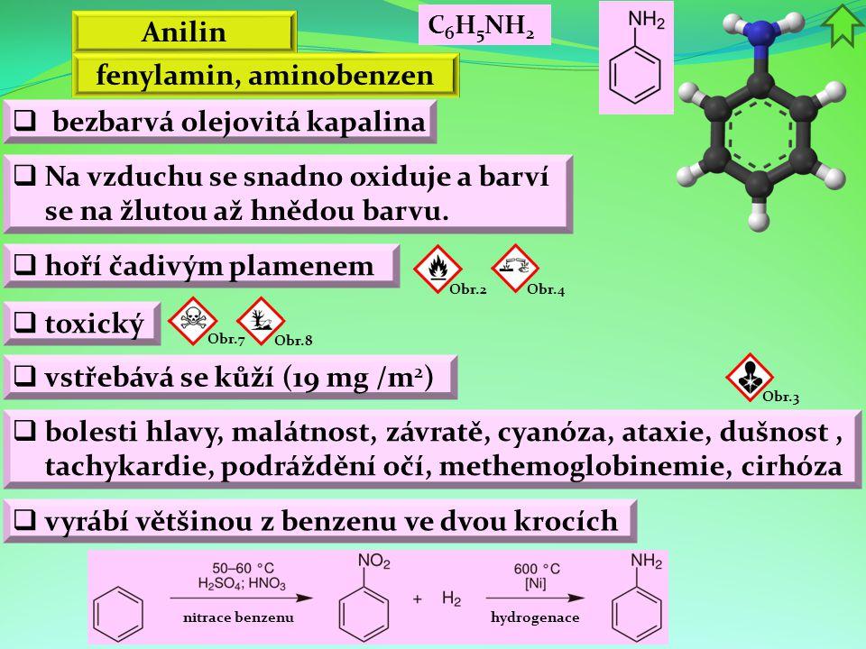 fenylamin, aminobenzen