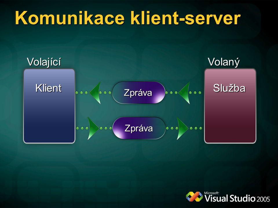 Komunikace klient-server