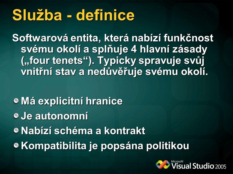 Služba - definice
