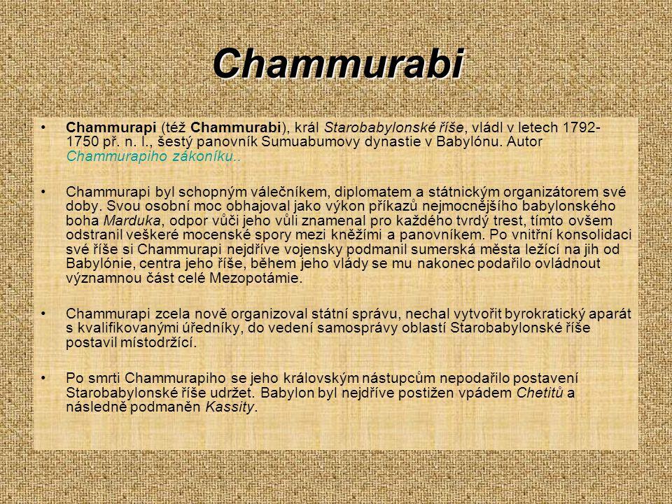 Chammurabi