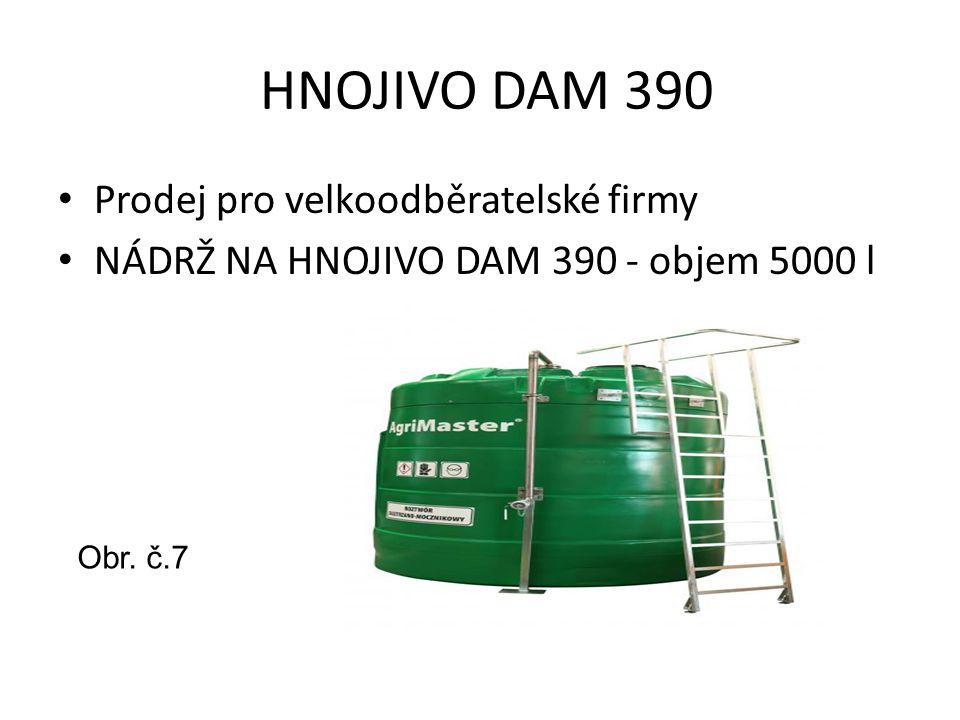 HNOJIVO DAM 390 Prodej pro velkoodběratelské firmy