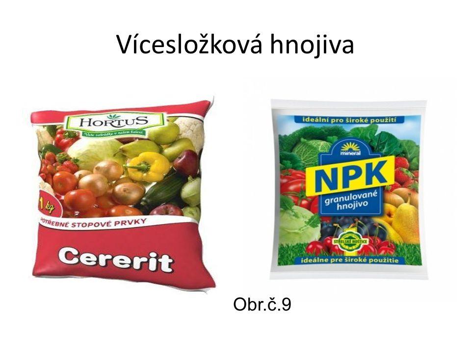 Vícesložková hnojiva Obr.č.9