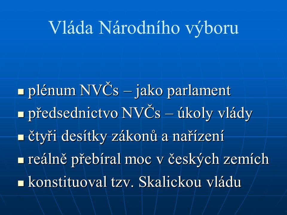 Vláda Národního výboru