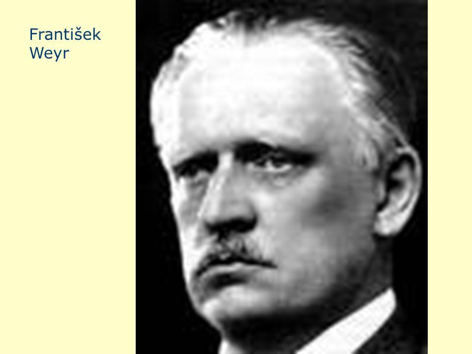 František Weyr František Weyr
