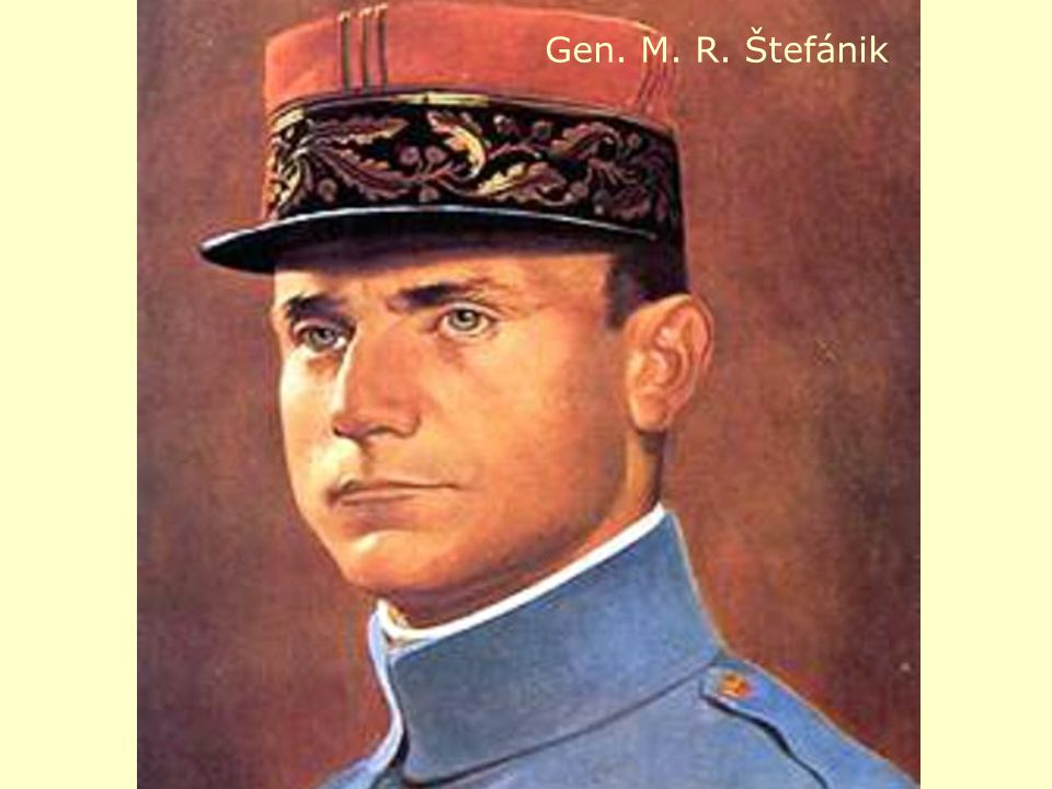 Gen. M. R. Štefánik