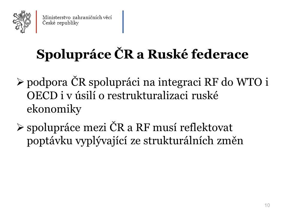 Spolupráce ČR a Ruské federace