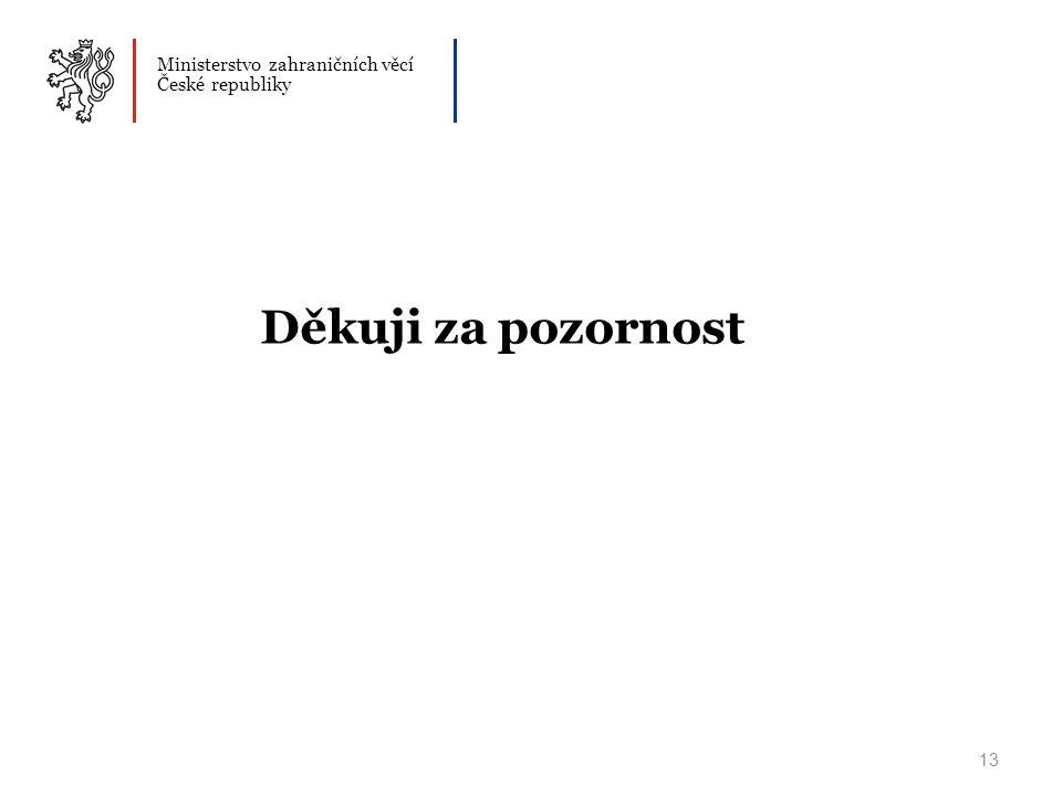 Ministerstvo zahraničních věcí České republiky