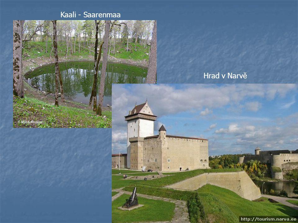 Kaali - Saarenmaa Hrad v Narvě