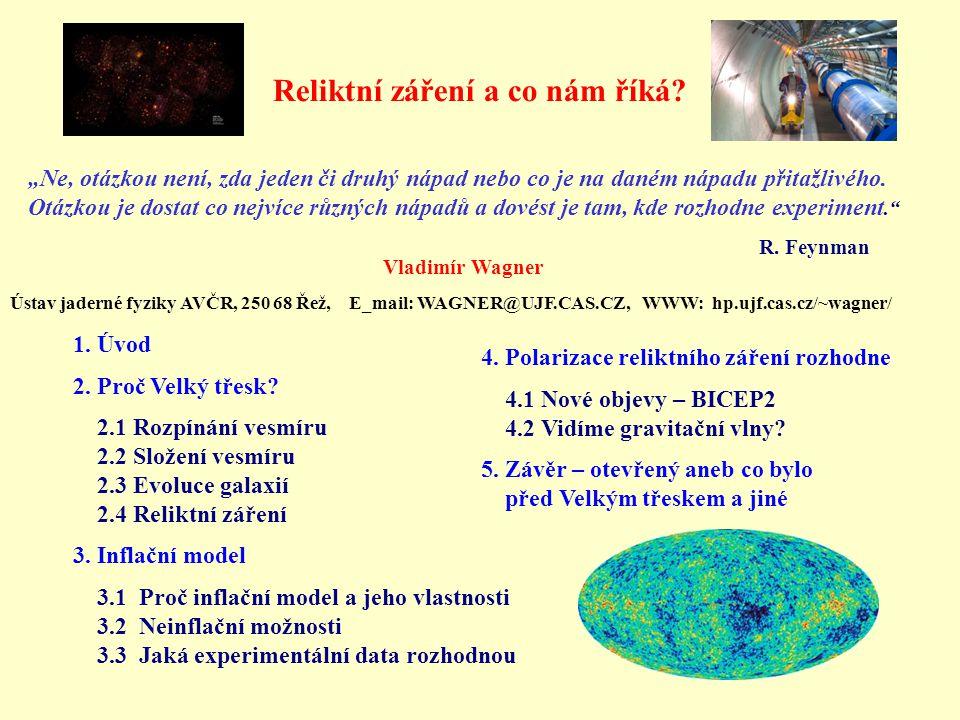 Reliktní záření a co nám říká