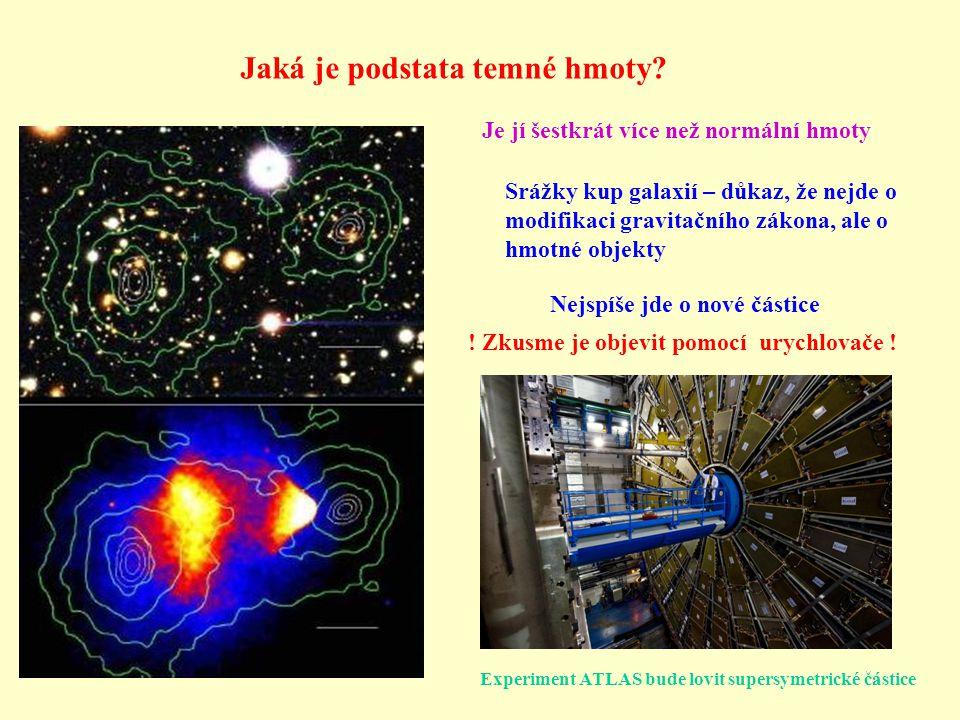 Jaká je podstata temné hmoty
