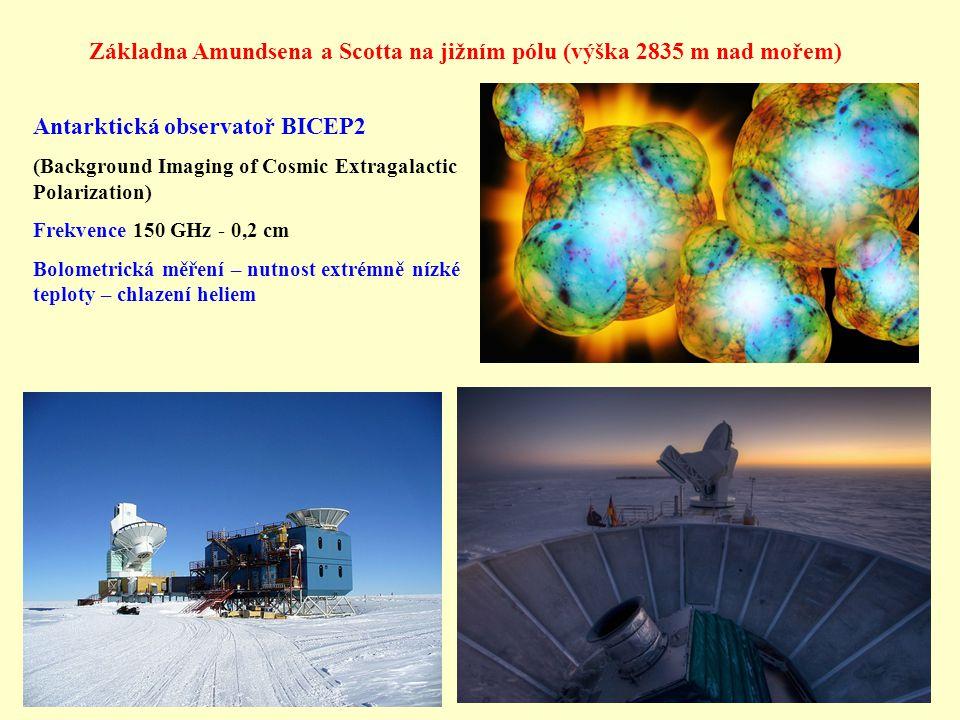 Základna Amundsena a Scotta na jižním pólu (výška 2835 m nad mořem)