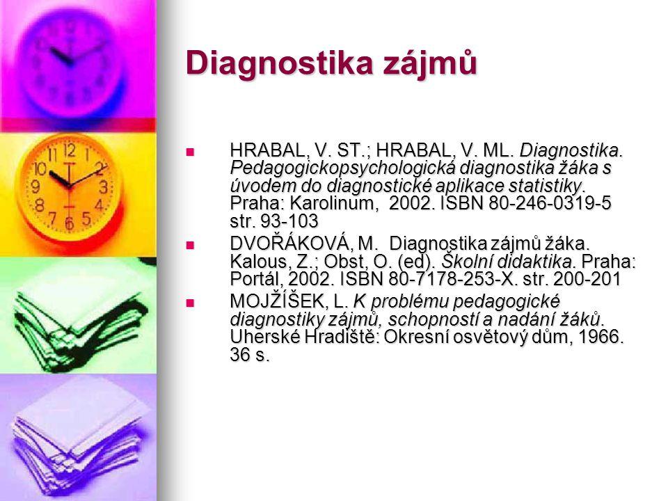 Diagnostika zájmů