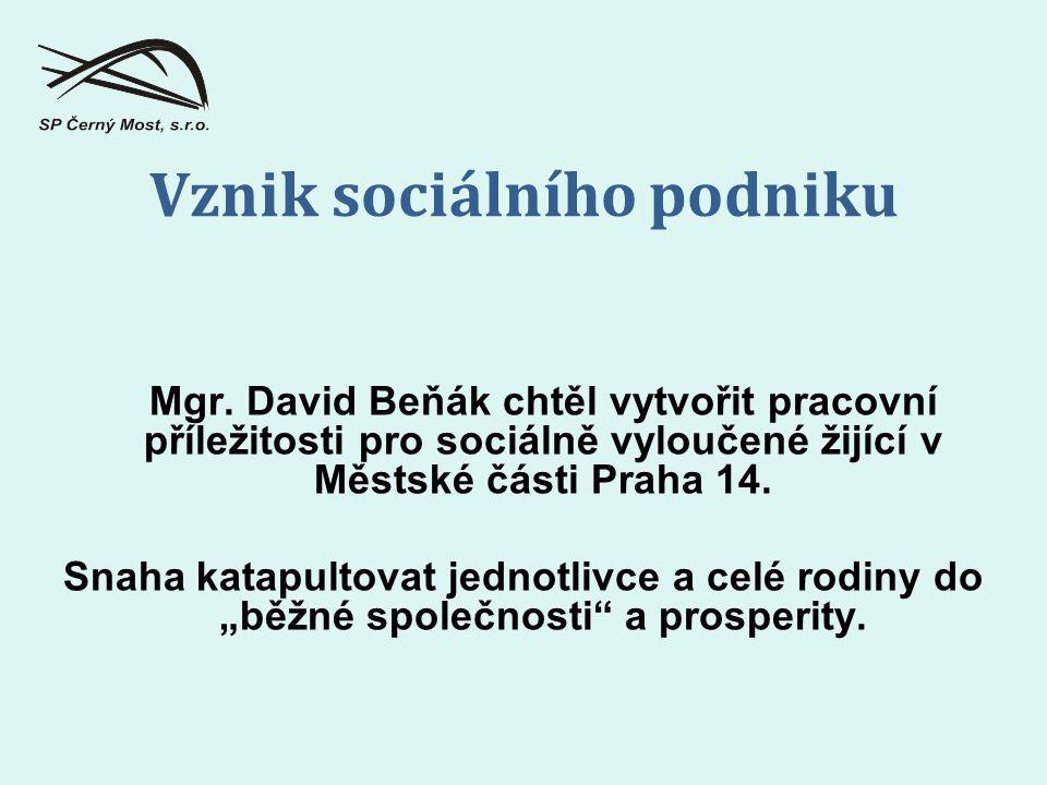 Vznik sociálního podniku