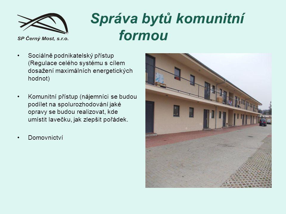 Správa bytů komunitní formou