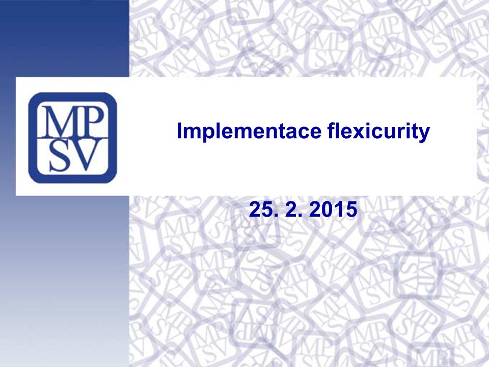 Implementace flexicurity