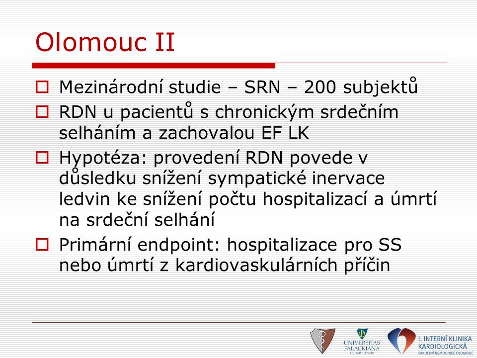 Olomouc II Mezinárodní studie – SRN – 200 subjektů