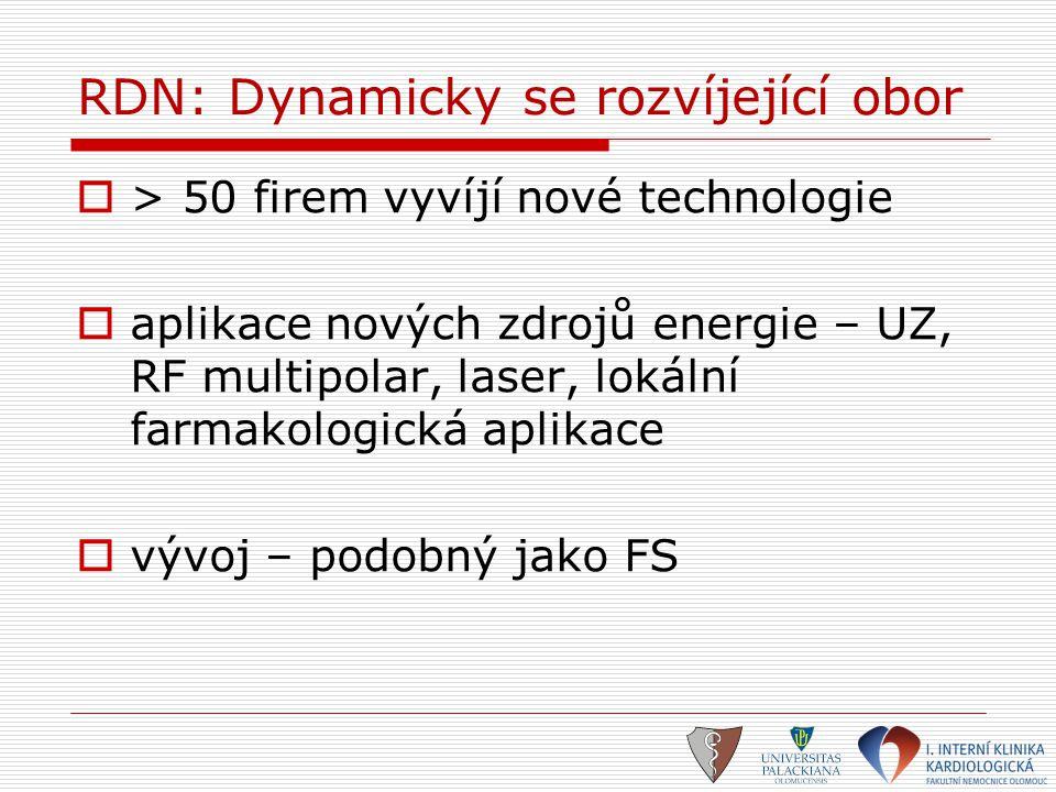 RDN: Dynamicky se rozvíjející obor