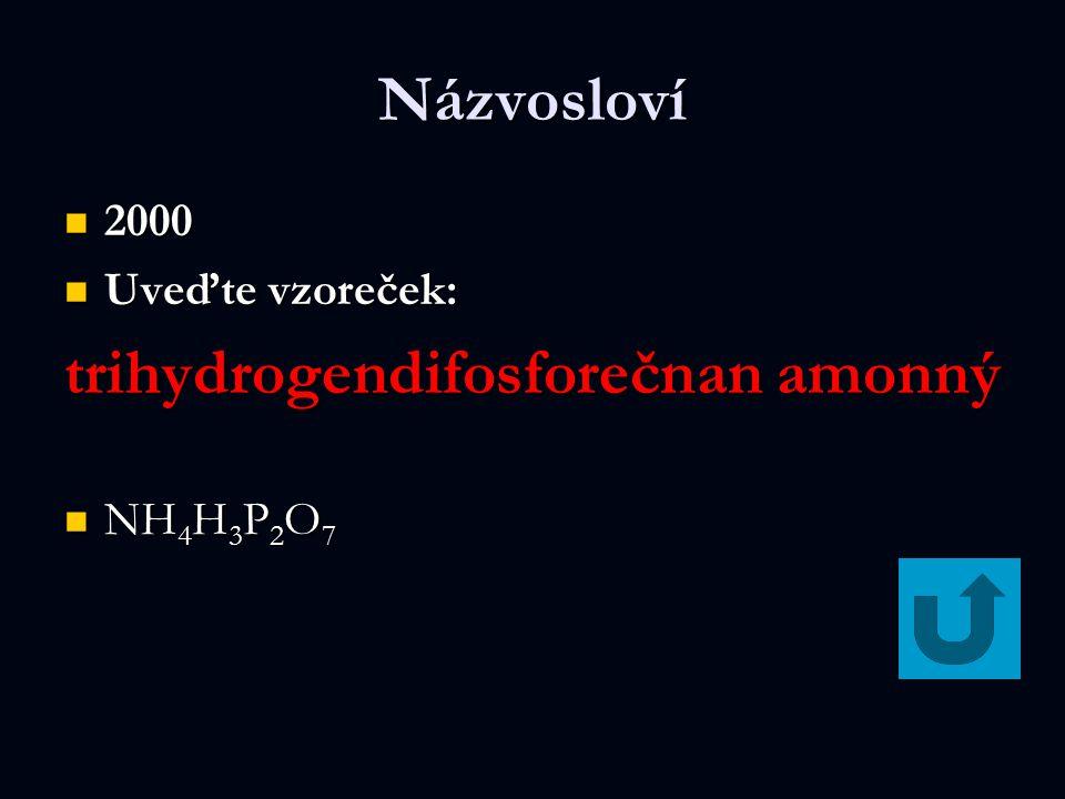 trihydrogendifosforečnan amonný