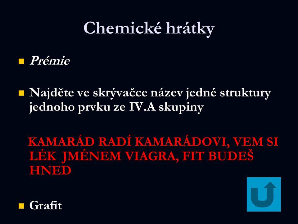 Chemické hrátky Prémie