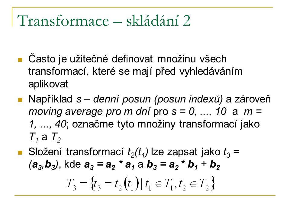 Transformace – skládání 2
