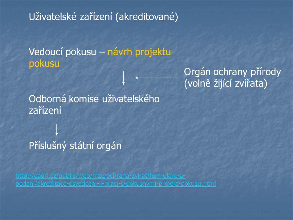 Uživatelské zařízení (akreditované)