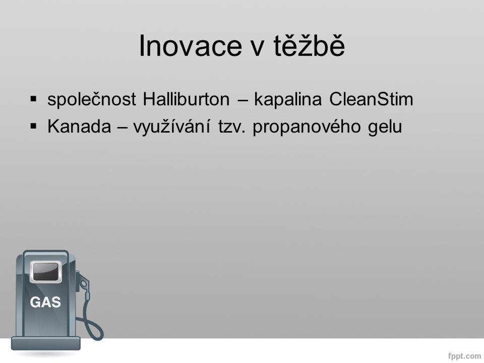 Inovace v těžbě společnost Halliburton – kapalina CleanStim